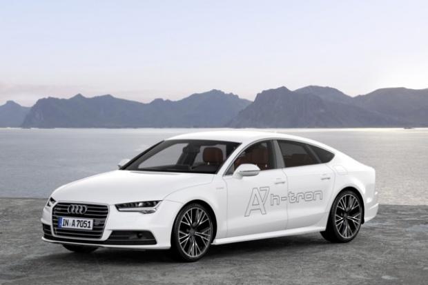 Audi A7 Sportback też jeździ na wodór