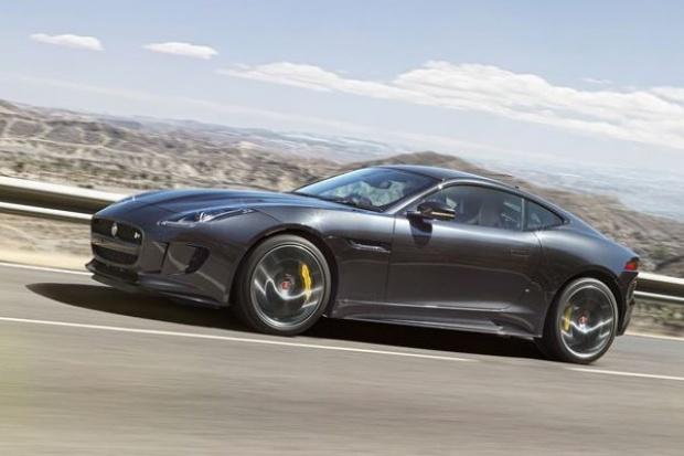 Jaguar F-Type z napędem all-wheel drive