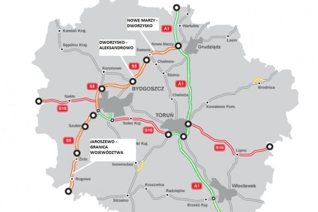 GDDKiA ma 22 chętnych do budowy 71 km trasy S5