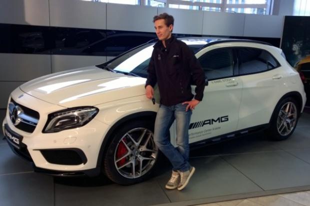 Kamil Stoch odebrał swojego Mercedesa