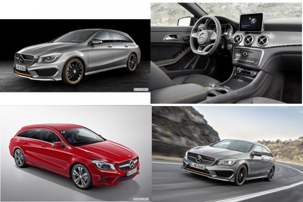 Mercedes-Benz CLA Shooting Brake - kompaktowy rodzynek