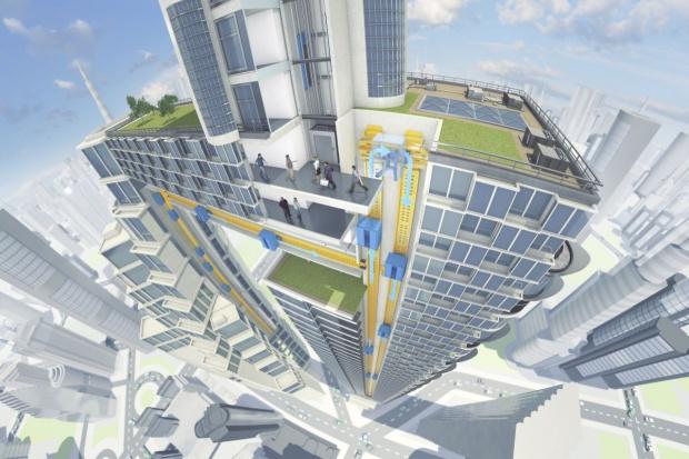 ThyssenKrupp urwał windę z liny