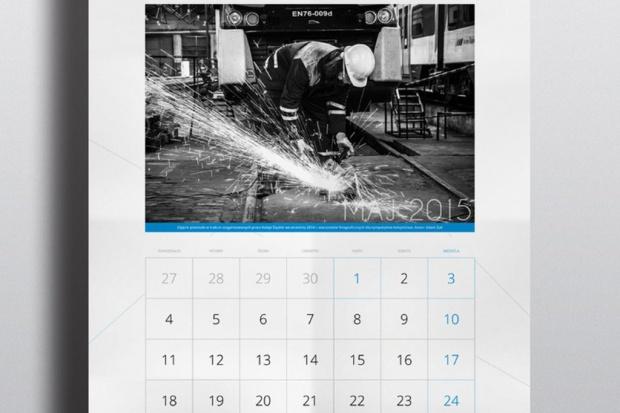 Miłośnicy kolei autorami zdjęć w kalendarzu Kolei Śląskich
