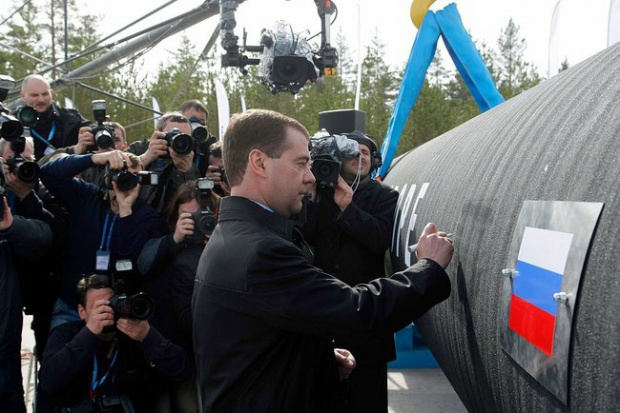 Rosjanie tłoczą Nord Streamem rekordowe ilości gazu