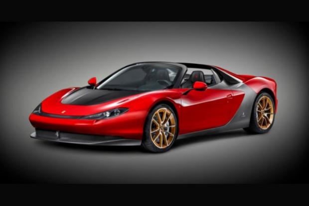 Ferrari na cześć legendy designu