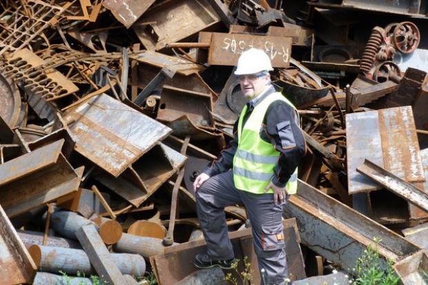 Prezes Cutironu: nie zbieramy odpadów, lecz dostarczamy surowce