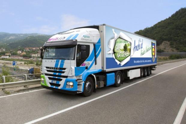 Iveco kompletuje flotę pojazdów LNG