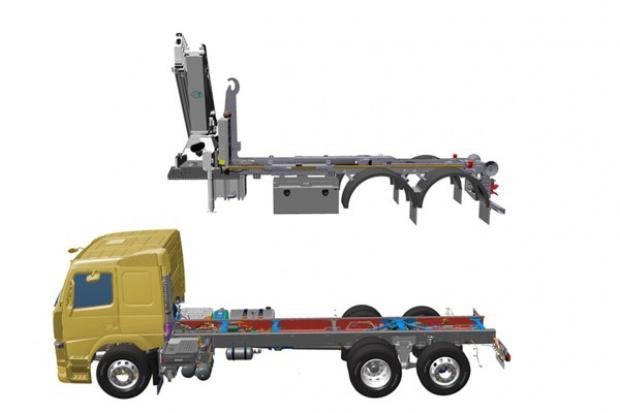 Rysunki 3D od Volvo dla przyspieszenia zabudowy ciężarówek