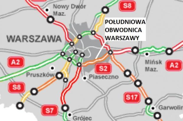 Oferty na Południową Obwodnicę Warszawy w 2015 r.