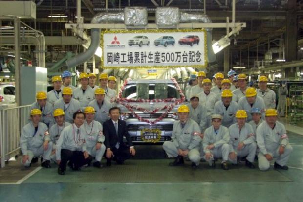 5 milionów Mitsubishi z japońskiej fabryki