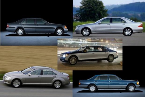 Skrócona historia flagowców Daimlera