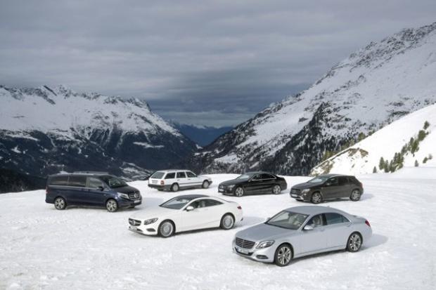 Więcej modeli Mercedes-Benz z napędem 4MATIC