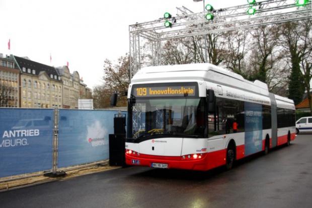 Solaris Urbino z ogniwem wodorowym debiutuje w Hamburgu