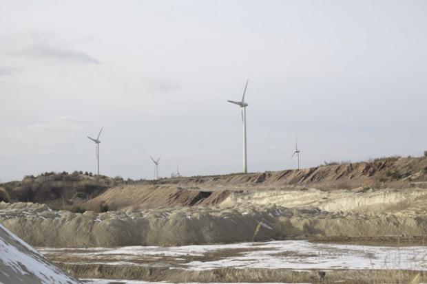 Energa postawi wiatraki na byłej kopalni odkrywkowej