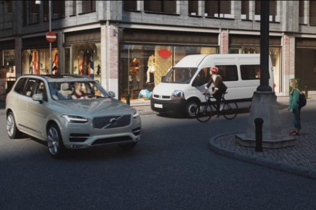 Volvo dla.... rowerzystów
