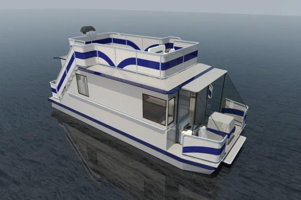Stocznia z Mazur buduje domy na wodzie