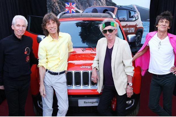 Jeep podpisany przez Rolling Stones'ów sprzedany na aukcji