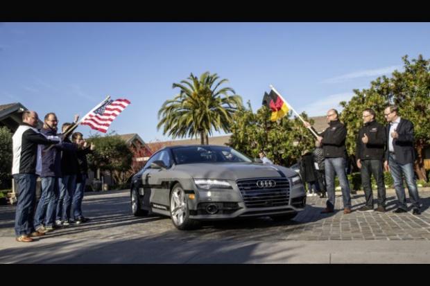 Autonomiczne Audi A7 Sportback w amerykańskim teście