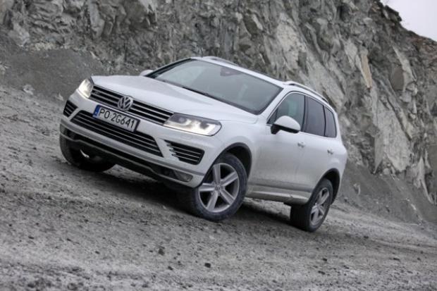 Volkswagen odświeża Touarega
