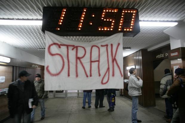 W KWK Brzeszcze trwa protest, przyłączają się inne kopalnie