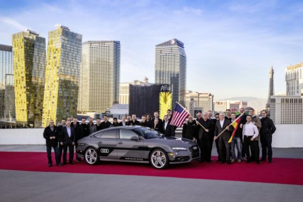 Autonomiczne Audi A7 Sportback po amerykańskiej próbie
