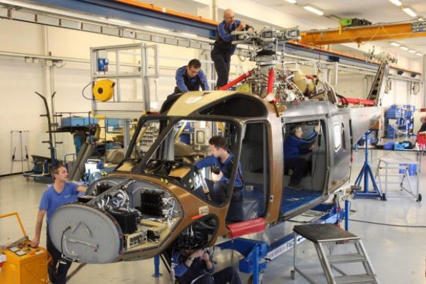 AgustaWestland uruchomiła produkcję AW169