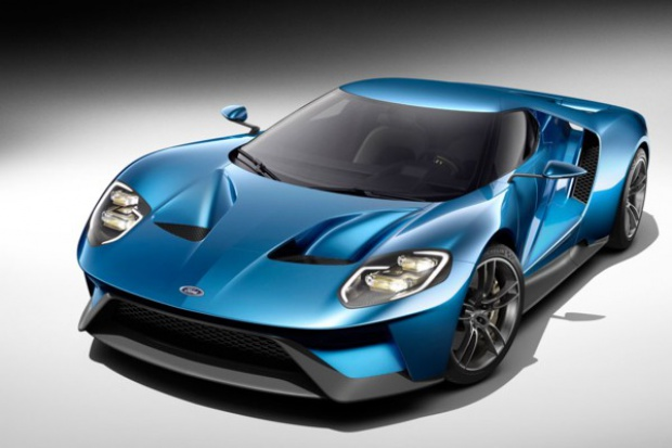 Ford GT: legenda korzysta z technologii EcoBoost