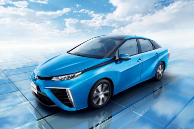 Wyjątkowe zainteresowanie wodorową Toyotą