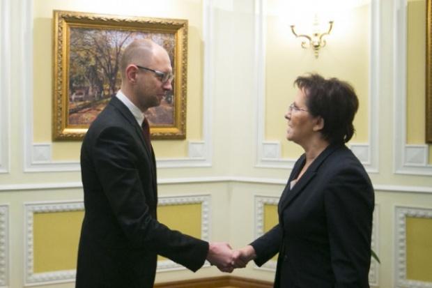Kopacz i Jaceniuk o polskim węglu i programie kredytu