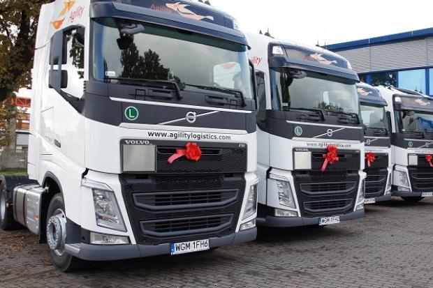 Powiększona flota Volvo w PolTransSped