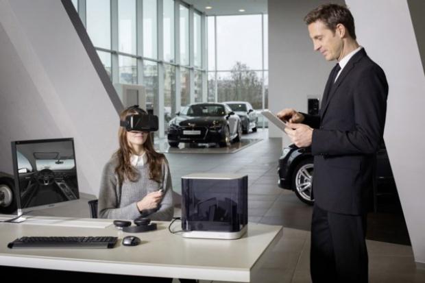 Wirtualna rzeczywistość pomaga w sprzedaży Audi