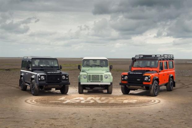 Pożegnalne serie Land Rovera Defendera