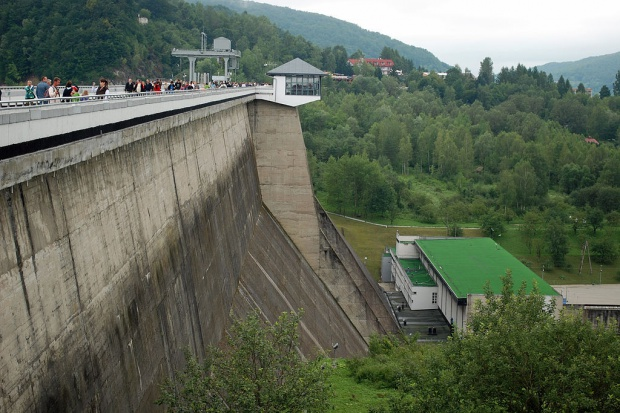 Zapora i elektrownia w Solinie atrakcją turystyczną