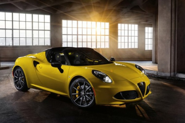 Alfa 4C Spider: tradycji staje się zadość