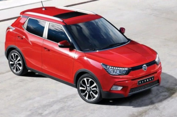 SsangYong wprowadza nowego SUV'a