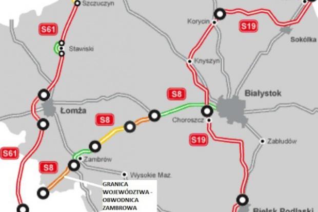 Kontrakt na budowę odcinka S8 za 455 mln zł podpisany