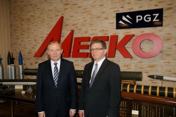 Wiceszef MON: to będzie dobry rok dla firmy Mesko