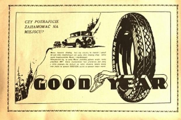 Minęło 85 lat Goodyeara w Polsce