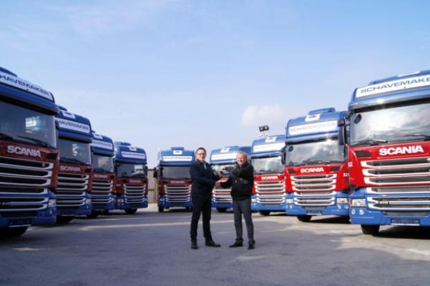 Setna Scania dla Schavemakera