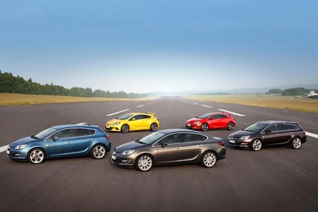Lista przebojów marki Opel