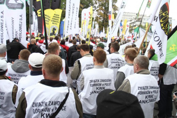 Będzie akcja protestacyjno-strajkowa w całym górnictwie