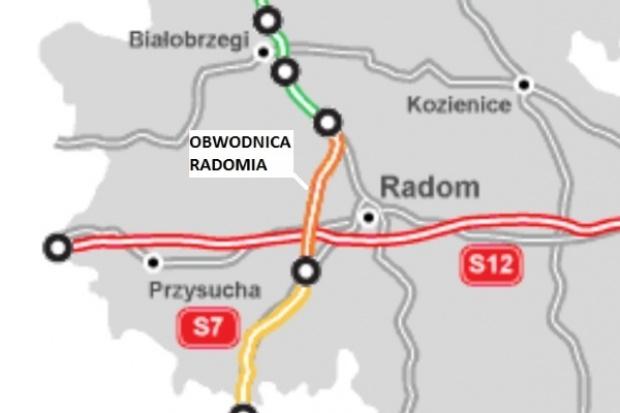Siedem ofert na obwodnicę Radomia - od 729 do 977 mln zł