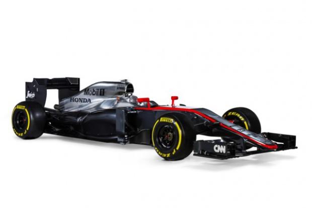 Bolid McLaren-Honda gotowy
