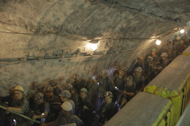 JSW: protest głodowy górników z kopalni Zofiówka
