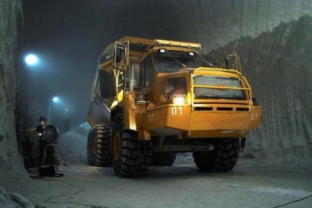 Górniczy zakręt KGHM