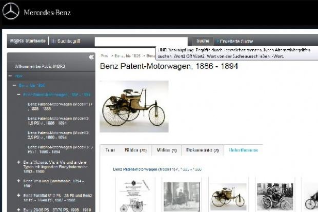 Mercedes-Benz Classic otwiera internetowe archiwum