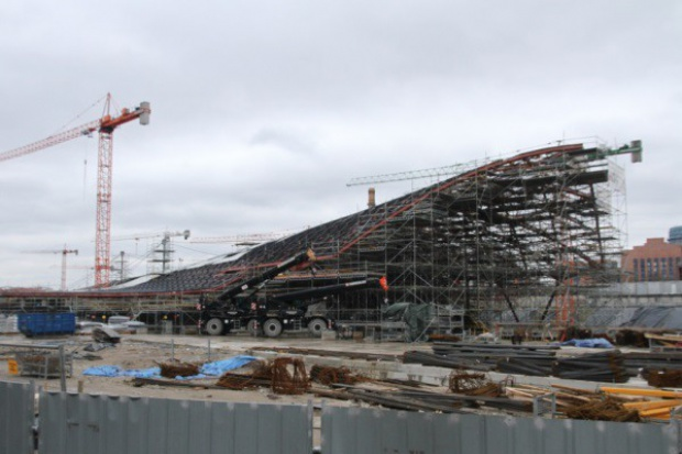 Dworzec Łódź Fabryczna będzie udostępniony pasażerom w końcu br.