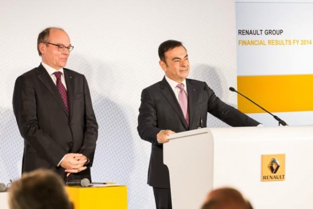 Niewielkie wzrosty Grupy Renault