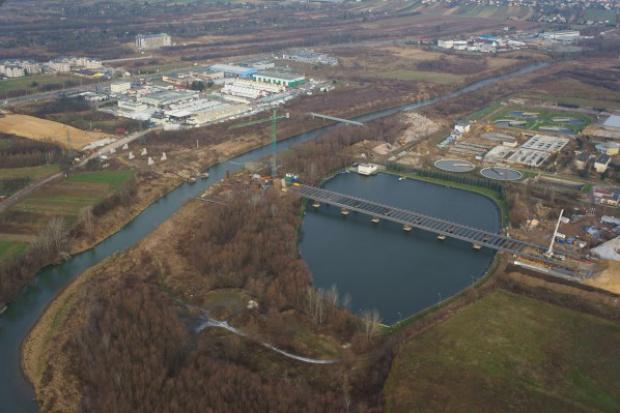 Bilfinger: budowa mostu przez Wisłok w kluczowej fazie
