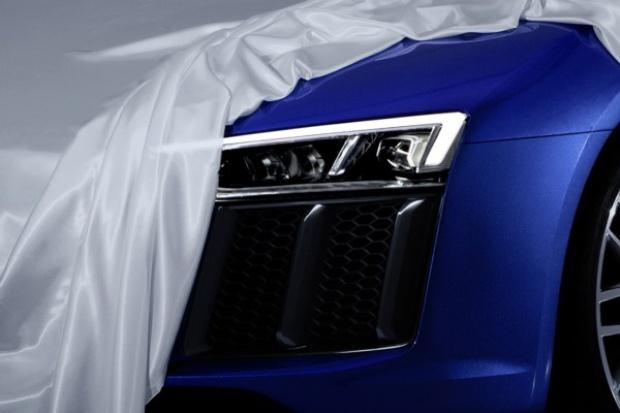 Audi rozpoczyna prezentację nowego R8 od.... reflektorów